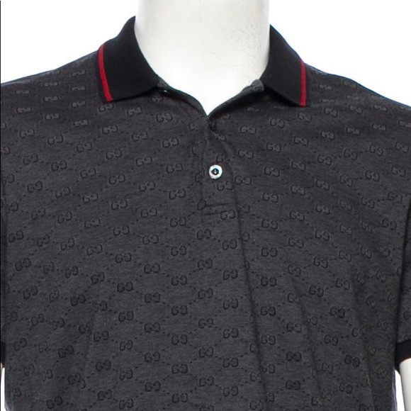 262cae16ed3 Gucci Other - Gucci men polo shirt grey authentic size XL